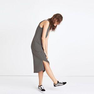 Madewell Ribbed Midi Dress